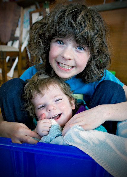 Coco & Stella           <br /> April 22, 2011