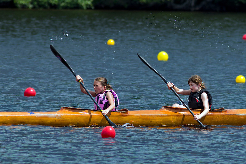 Liliane and Stella, Gold medal, K4<br /> Shawinigan, July 7, 2013
