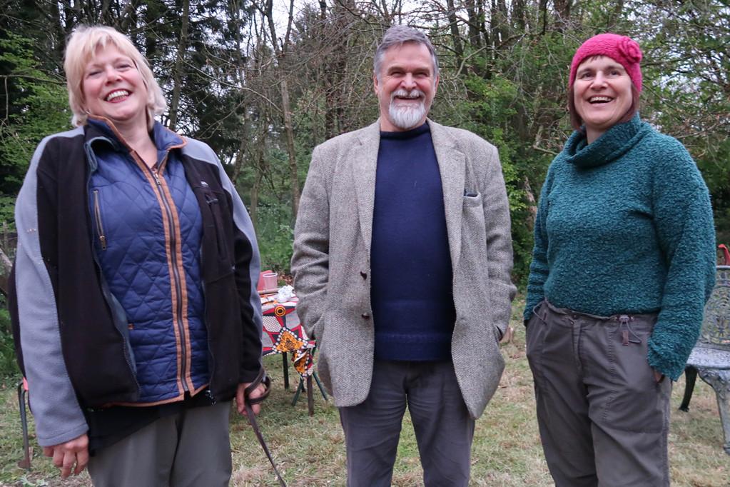Jan, Graham and Sue.