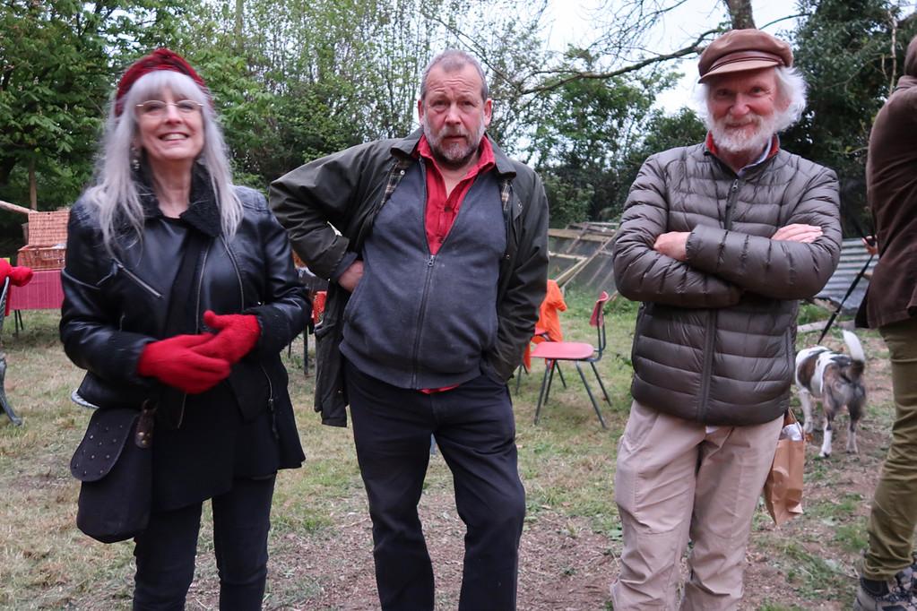 Gloria, Nag and Bongo.