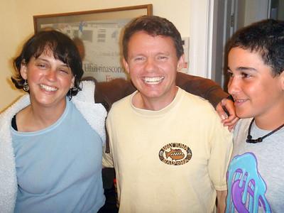 Elizabeth Rynecki, Steve Knowlton, Zack (Photo: Aliza)