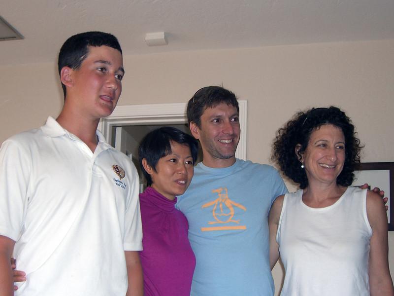 Jesse, PK, Barry Newstead, Aliza