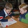 With friend-Elliott at school