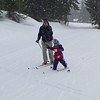 First ski at Snoqualmie pass