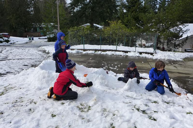 Day 2 of school snow days!