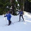 Skiing at Stevens Pass.
