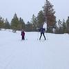 Skiing at Echo ridge!
