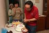 043 Cutting the cake