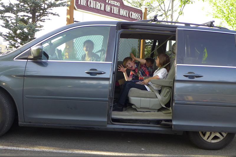 The Leites gave the boys a ride home :)