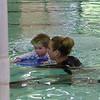 Elliot started swim lessons!