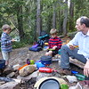 Camping at the base of Davis Peak