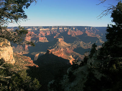 05 Arizona: Grand Canyon Sunrise - El Tovar