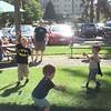 Bubbles at farmers market