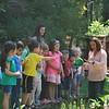 Elliot, in red, at preschool.