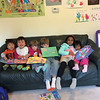 Lucas (De de), Grace, Elliot, Sebastian, Sachi, and Sanvi.