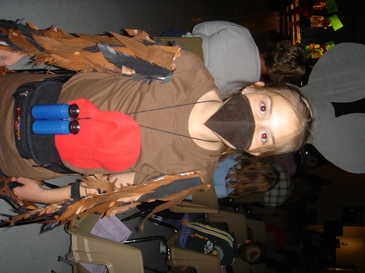 """Lexi's """"costume""""."""