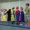 Sebastian at theater summer camp.  He's spiderman.