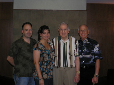 Me, Wendy, Grandpa Jones and Norm.