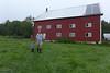 Burt and Nancy's barn.