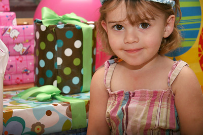 09-28-09 Lily 3rd Birthday