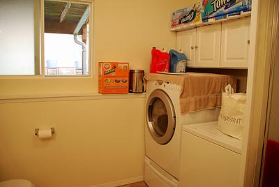 Downstairs bathroom & laundry