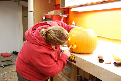 I don't plan, I just do!  Electric pumpkin carving toos are awesome!