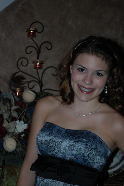 10 October 09 Lexi (& Cody) - 10th Grade Homecoming