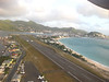 Taking off from the St. Maarten airport (or St. Martin depending on which country's side you're on) on our 6 minute hop to Anguilla.