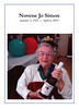 2010 - Novene Jo Simon funeral handout