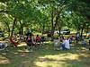 2010 Duncan Reunion - 11 Reunion under the trees