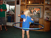 MAKAYLA MILES - HULA HOOPER EXTRAORDINAIRE<br /> This little cutie is Becca and Corey's little girl, who was killer on the hula hoop. She put on quite a show.