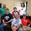 "SONNY SMITH AND FAMILY<br /> Back row: Ray Lewis ""Sonny"", Brady Clay, and Amy (Loose) Smith<br /> Front row: Nova Eileen (Beauchamp), Clayton Reece ""Clay"", and Hayden Reece Smith"