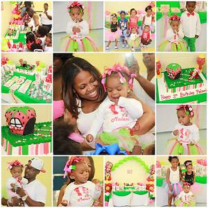 MALANI'S 1ST BIRTHDAY PARTY 10.26.14