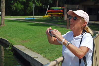 019 Donna at Deleon Springs State Park Florida