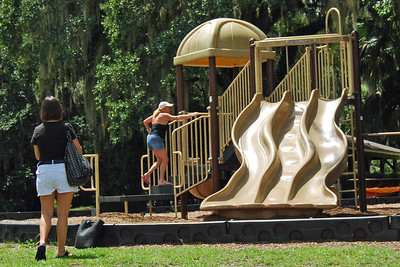 063 Lisa and Donna at Deleon Springs State Park