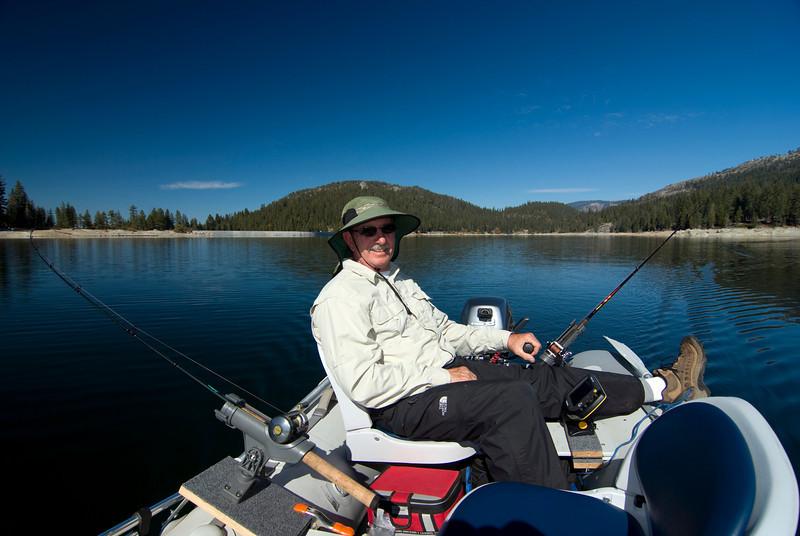 Dad Fishing @ Shaver Lake 11-3-2009 pic2