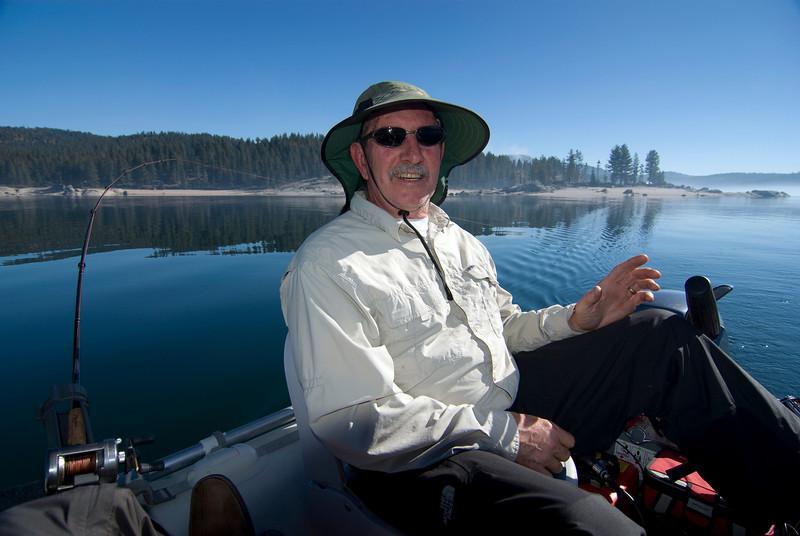 Dad Fishing @ Shaver Lake 11-3-2009 pic1