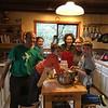 Making pie!