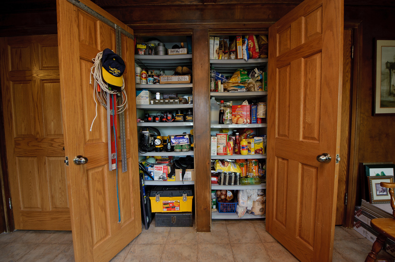 His and her pantries!
