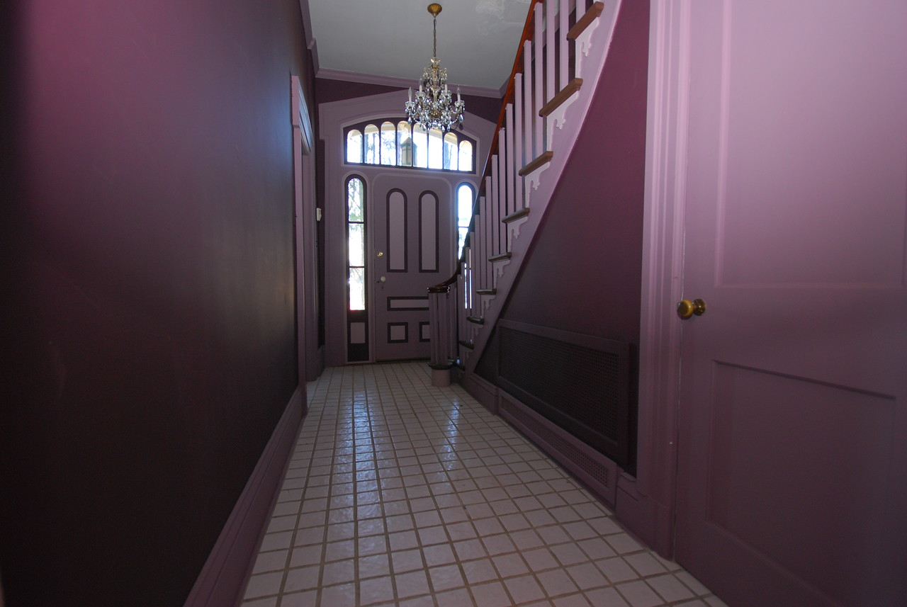 The foyer, looking towards the true front door.