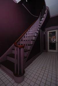 The foyer. The doorway leads to the living room.