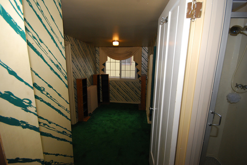 The maid's hallway.