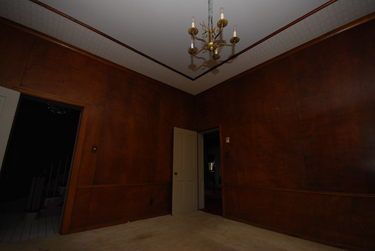 The TV room.