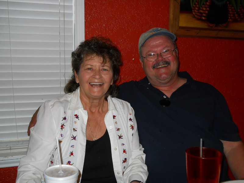 LYN AND DOUG<br /> Lyn's turn, as it was her birthday, anyway.