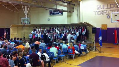 12-6-7. Sean's Chorus at Baldwin.