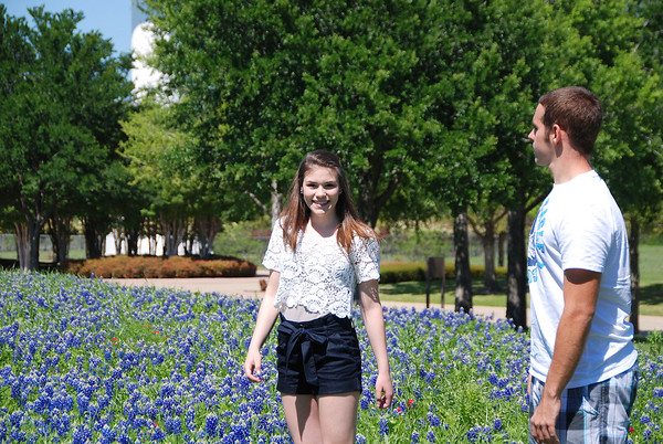 12 March 25 Lexi & Alex - bluebonnets in Texas