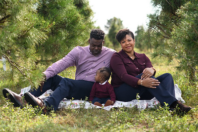 Byrd family photos at Holiday Acres CHristmas Tree Farm in Manvel, TX on Sunday, December 6, 2020