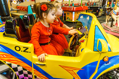 Just imagine not too many years from now the girls will be driving