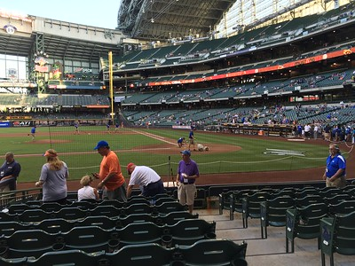 13 June 2016 DDHS Softball State Final, Brewers Game and VIP Golf