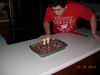 16 December 2011 UW Badger Hockey, Joey Birthday 012